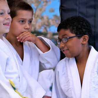 Three Ann Arbor Karate kids