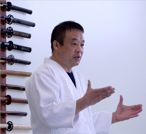 Satoh Tadayuki Sensei at the Japanese Martial Arts Center